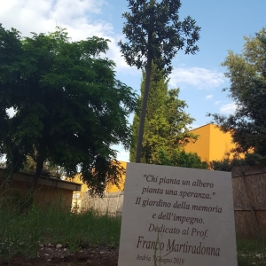 giardino in memoria del professor Francesco Martiradonna
