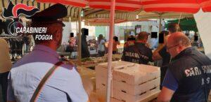 Blitz nel mercato di via Rosati a Foggia: multato un ambulante, un altro si dà alla fuga